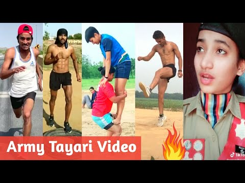 Indian Army Tayari Tik Tok video   Best Motivational Army Song   Indian Army Training   BSF,CRPF,NCC