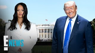 Gambar cover How Rihanna Sparked Donald Trump's 1st Twitter 'Like' in Years | E! News