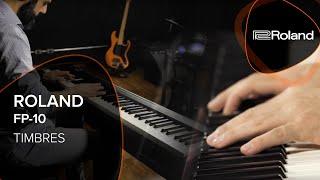Roland FP 10 vidéo