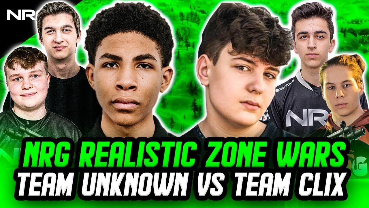 NRG Realistic Zone Wars Crazy Final Match | Clix, Zayt, and Epik VS. Unknown, Benjyfishy, and Edgeyy