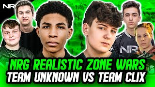 NRG Realistic Zone Wars Crazy Final Match | Clix, Zayt, and Epik VS. Unknown, Benjyfishy, and Edgeyy