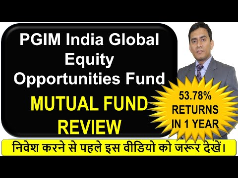 PGIM India Global Equity Opportunities Fund Hindi Fund Review | Detailed Analysis | FOF Fund