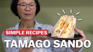 Simple recipes to try at home - Tamago sando