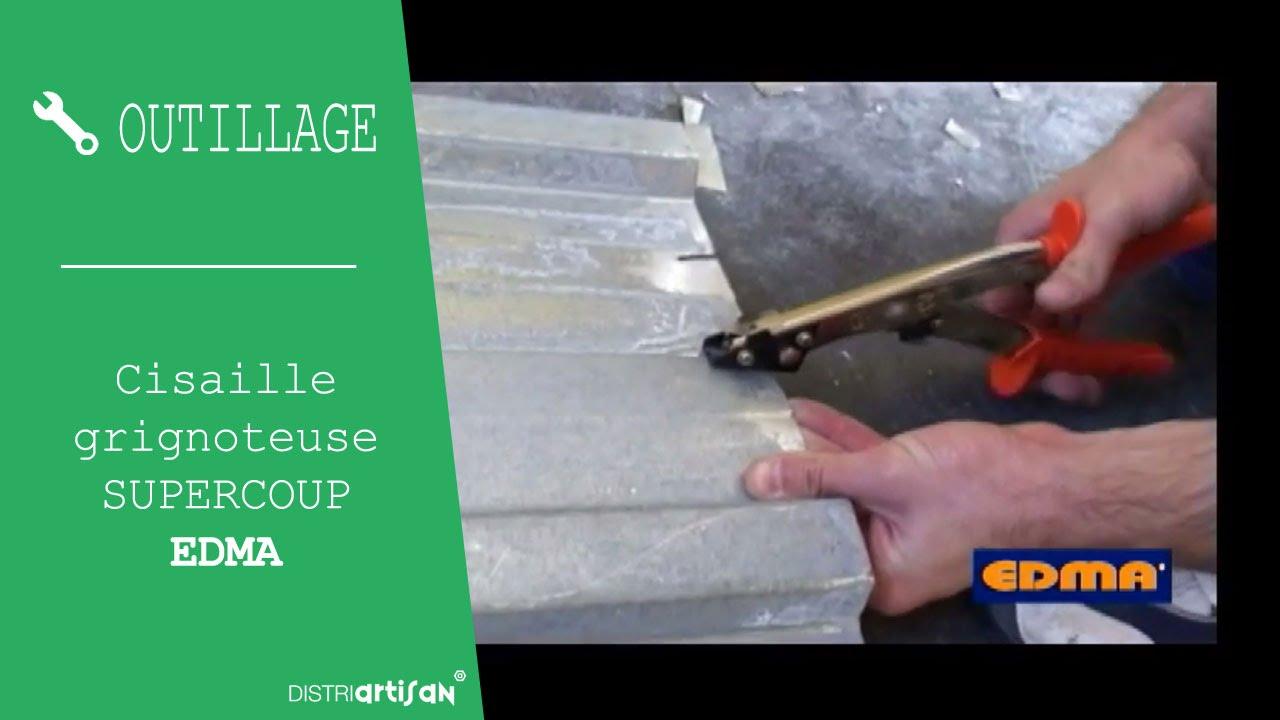 Cisaille Grignoteuse Supercoup Nr1 De La Marque Edma