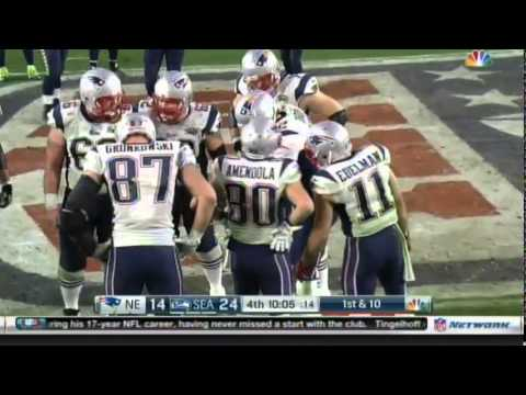 Edelman Concussion Hit in Superbowl XLIX