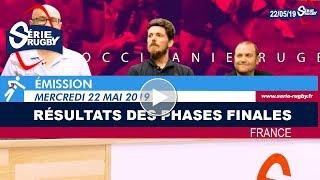Emission Série Rugby Mercredi 22 Mai 19
