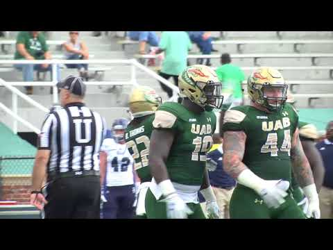 UAB Football vs Rice 11/4/17 - UAB Highlights