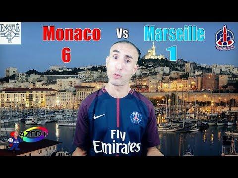 Monaco - Marseille 6-1 - Azéd Stories
