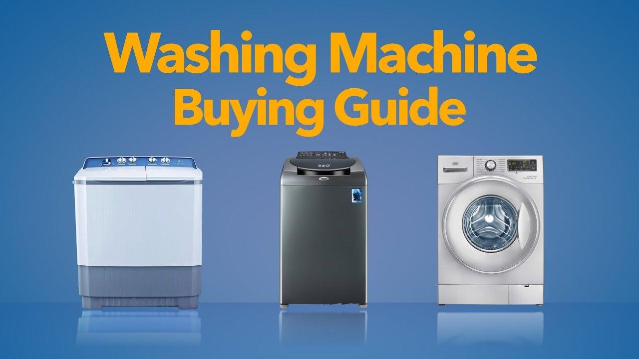 Washing Machine Buying Guide (English) - YouTube