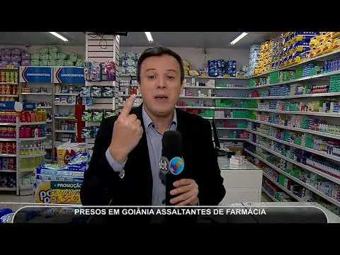 JMD (21/05/18) - Assaltantes De Farmácia São Presos Em Goiânia