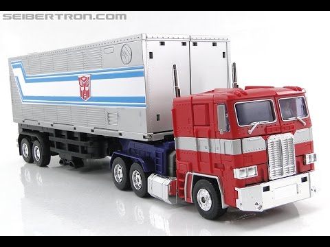 Transformers Masterpiece MP-10 Optimus Prime with Reprolabels (Takara Tomy)