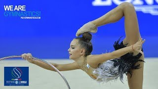 2017 Rhythmic Worlds, Pesaro (ITA) - Hoop+Ball Finals, Highlights - We Are Gymnastics !