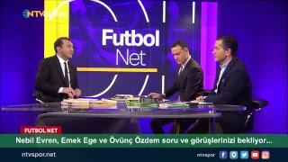 [CANLI] Nebil Evren, Emek Ege ve Övünç Özdem Futbol Net'te!