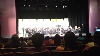 Imperial Valley County HS Honor Band - Fanfare and Toccata - Spring 2013