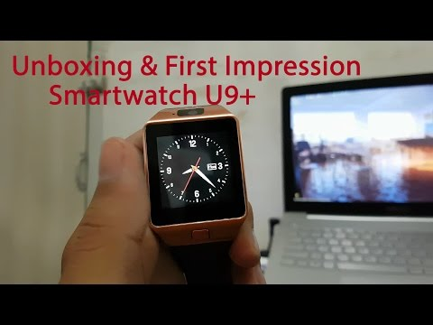 Unboxing + Hands On Smart Watch U9 - Jam tangan murah fitur lumayan