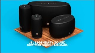 JBL LINK Series | Voice-activated speakers with the Google Assistant