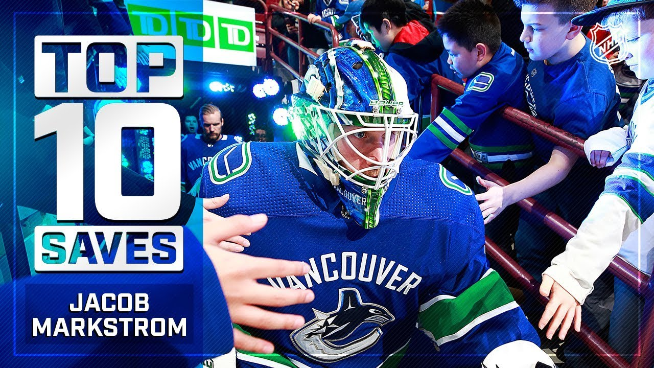 Top 10 Jacob Markstrom Saves From 2018 19 Youtube
