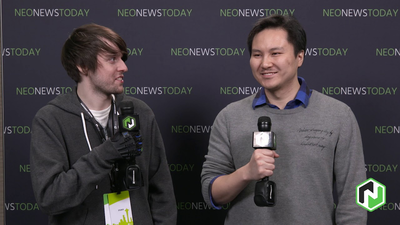 Peter Lin - NGD interview at NEO DevCon 2019