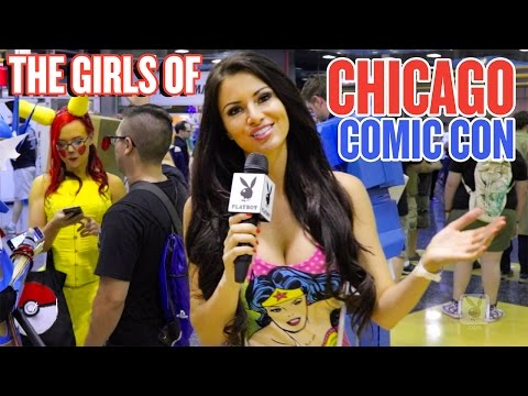 The Girls of Chicago Comic Con  The April Rose Files