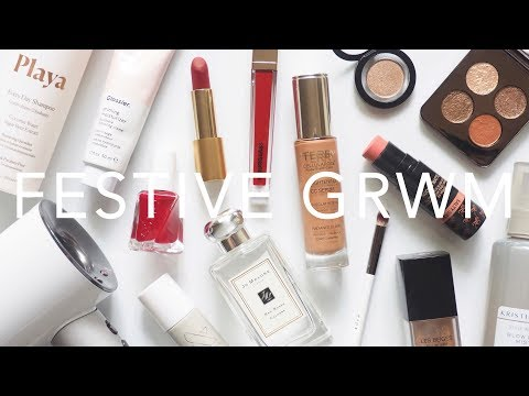 festive-beauty-routine- -hair,-skincare,-makeup-and-style