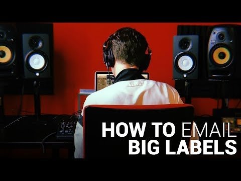 How to EMAIL BIG LABELS   Spinnin' Records, Hexagon & more!