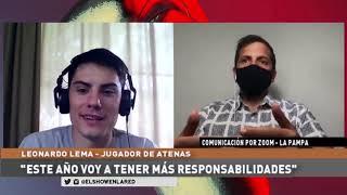 Atenas   Leonardo Lema en El Show En La Red 25 09 2020