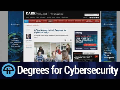 Nontechnical Degrees for Cybersecurity