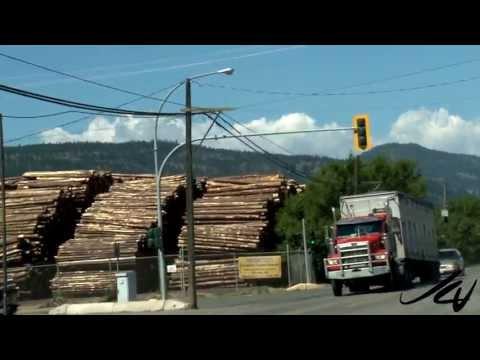 Merritt home to sawmills, logging, ranching, and mining -  British Columbia Travel 2013  - YouTube