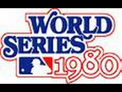 1980 World Series  Game 1, Royals @ Phillies