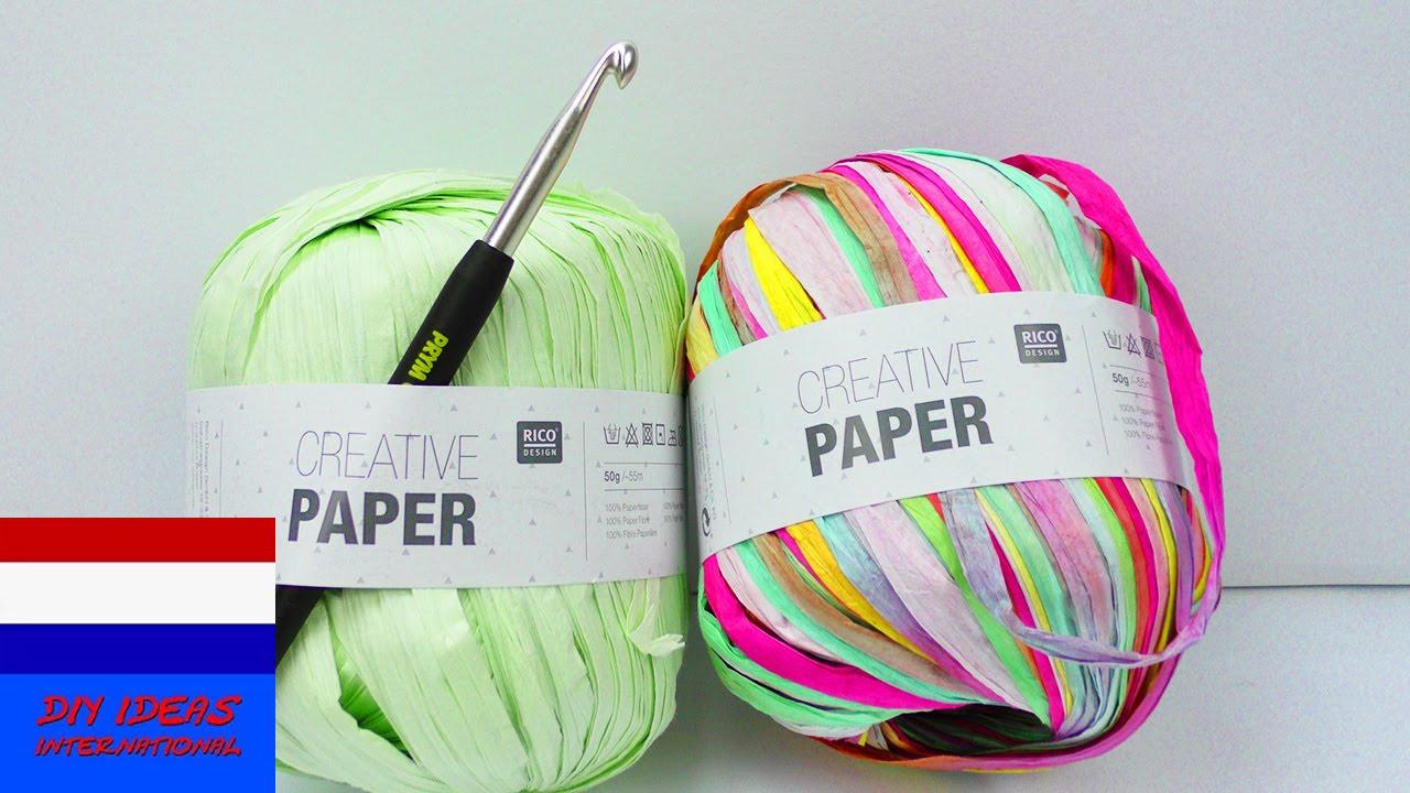 Creative Paper Haken Met Papier Live Test Zomers Alternatief
