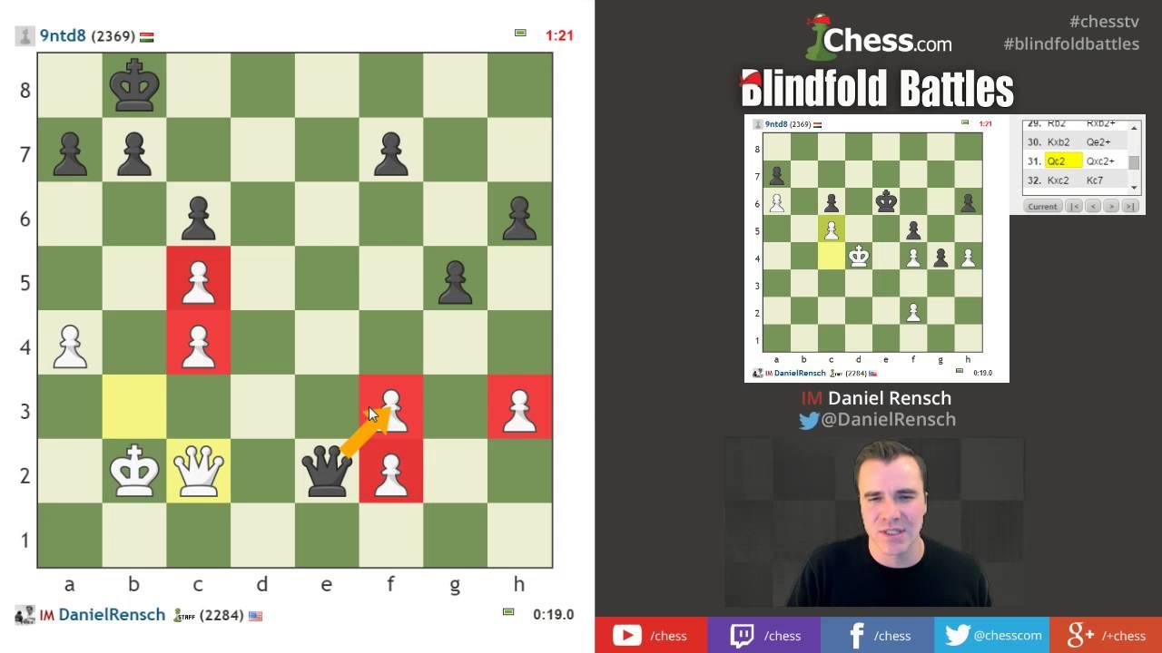 Blindfold Blitz Chess Visualization Training With Im