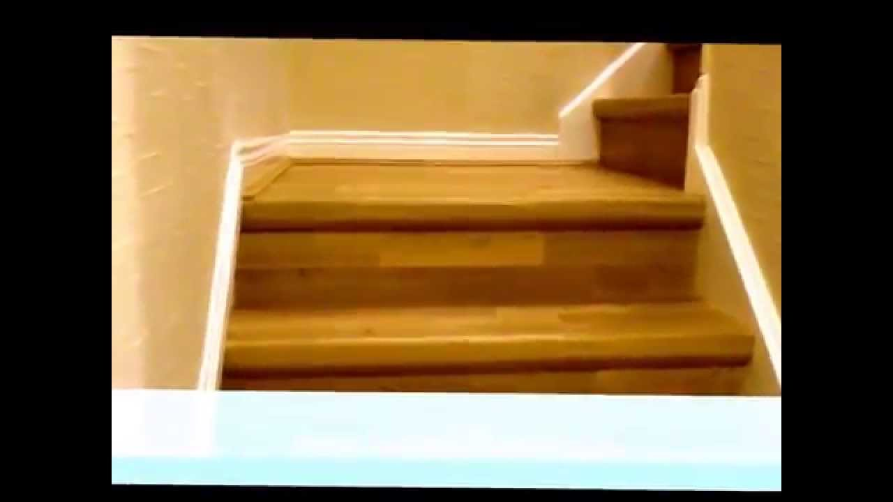 quick step parquet stair renovation youtube. Black Bedroom Furniture Sets. Home Design Ideas