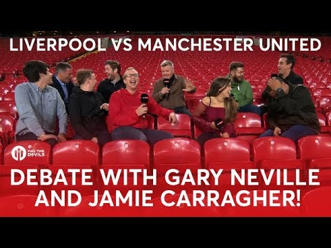 Gary Neville & Full Time Devils vs Jamie Carragher and The Redmen TV!
