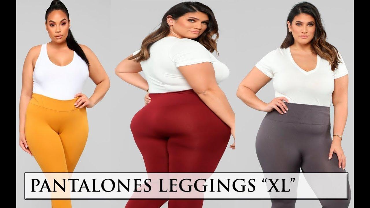 Pantalones Leggings Para Chicas Talla Grande Youtube