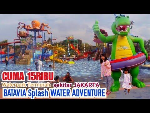 Waterpark Paling Murah Batavia Splash Water Adventure Wahana Kolam Renang Tangerang Kids Water Slide