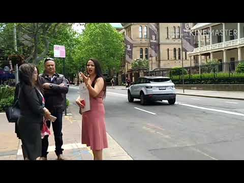 Macquarie St Sydney Australia Video
