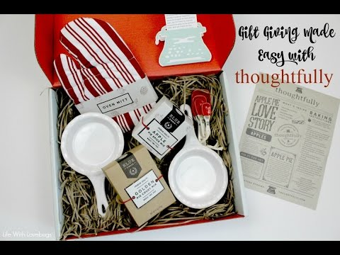 Gift Giving Made Easy With Thoughtfully