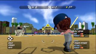 Derx Plays MLB Stickball with Anthony (DusK) !