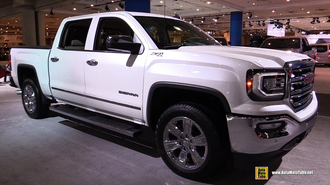 2017 gmc sierra slt z71 exterior and interior walkaround. Black Bedroom Furniture Sets. Home Design Ideas