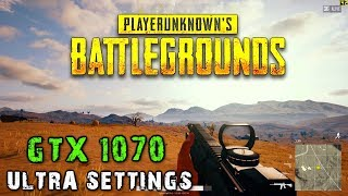 PUBG Official 1.0 - Desert Map - Miramar - GTX 1070 OC 8GB - Ultra Settings + FPS Counter