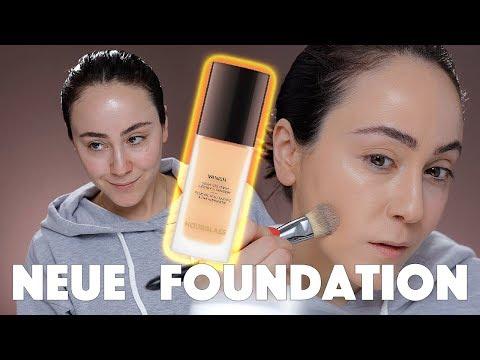 Super Hyped Foundation im Test! 🕵🏻♂️ Hourglass Vanish Liquid ☕️ First Impression Hatice Schmidt