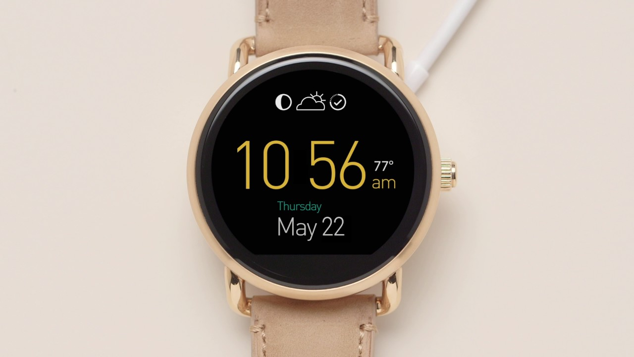 fossil smartwatch iphone