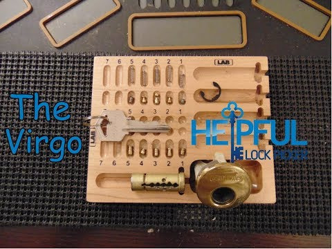 [94] The Virgo Maiden (Trap Pin) Challenge Lock Picked and Gutted