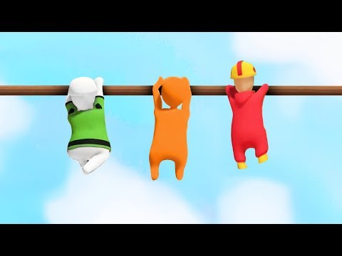 LAST TO LET GO WINS! (Human Fall Flat Episode #4)