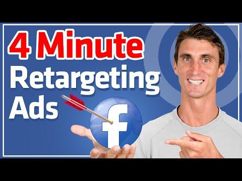 Setup Retargeting Ads on Facebook in 4 Minutes
