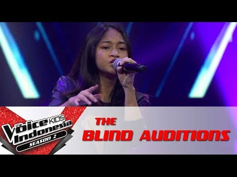 Kesha 'Treat You Better' | The Blind Auditions | The Voice Kids Indonesia Season 2 GTV 2017