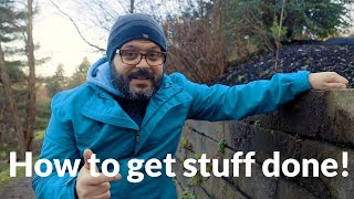 Goals Setting: How to get stuff done!