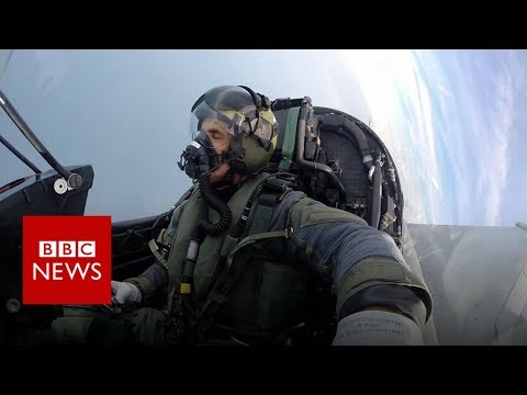 What is it like to fly the RAF Typhoon jet? - BBC News