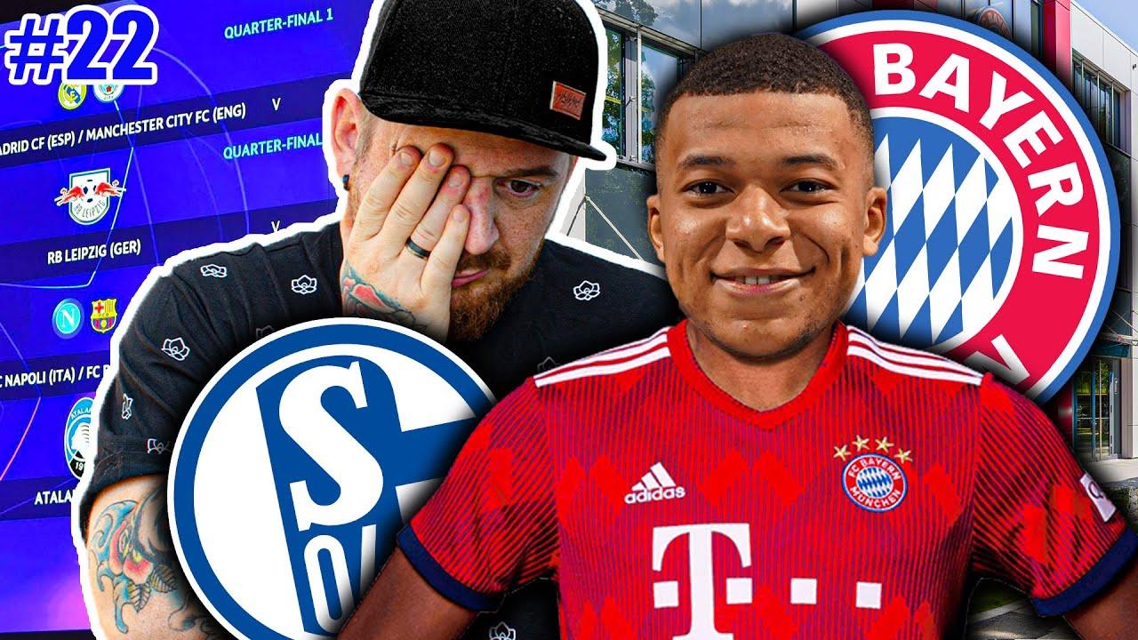 MBAPPE nach BAYERN 🤯! SCHALKE CHAMPIONS LEAGUE 💥! Schalke 04 KARRIERE #22 EA SPORTS Fussball Manager