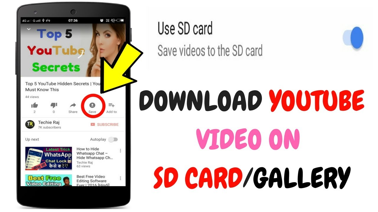 youtube video save